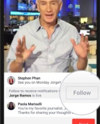 The Power of Live Broadcasting on Social Media